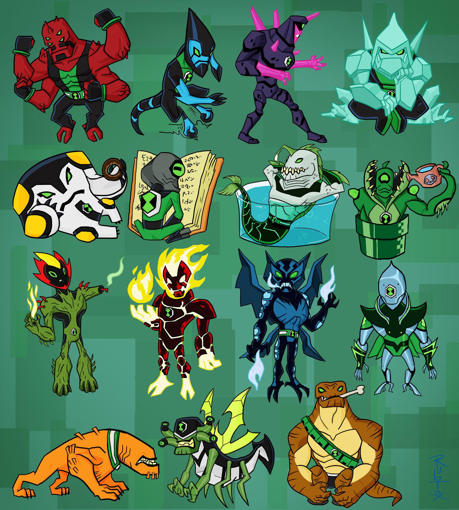 все герои из омнитрикса список с фото идет запуск кода
